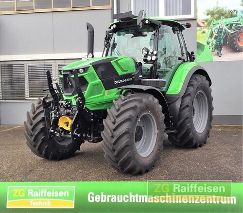 Deutz-Fahr 6155.4 Ttv + Gps + Gewährleist. Año de fabricación 2017 Accionamiento 4 ruedas