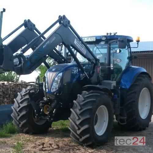 New Holland T 7.210 Auto Command Frontlader Baujahr 2012