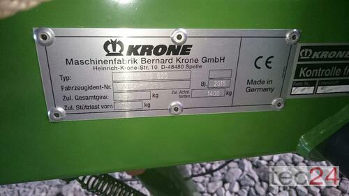 Krone Swadro Ts 620 anno di costruzione 2015 Röhrnbach