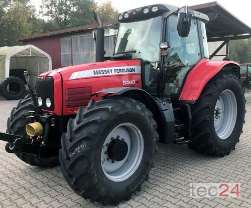 Massey Ferguson 6480 Allrad Dyna 4 Traktor Årsmodell 2005 4-hjulsdrift