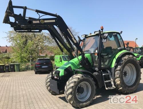 Deutz-Fahr Agrotron 106 Allrad Traktor caricatore anteriore anno di costruzione 1997