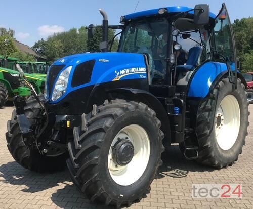 New Holland T7.210 AC Traktor mit FKH & FZW