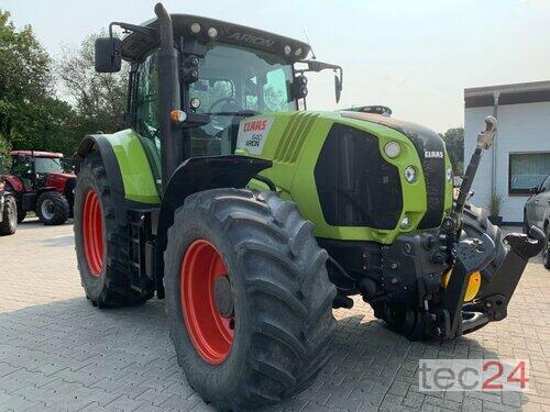 Claas Arion 640 Cebis Mit Fkh & Fzw anno di costruzione 2013 4 Trazione Ruote