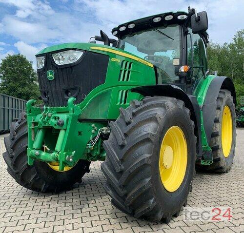 John Deere 6210r Allrad Traktor Año de fabricación 2013 Accionamiento 4 ruedas