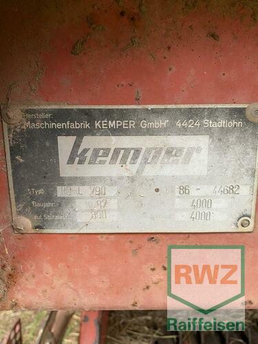 Kemper Ro-L 790 Year of Build 1987 Zülpich