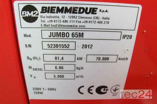 Heizgerät BM2 Getreidetrocknung Ölheizung Jumbo 65 Hallenheizung Heutrocknung Bild 1
