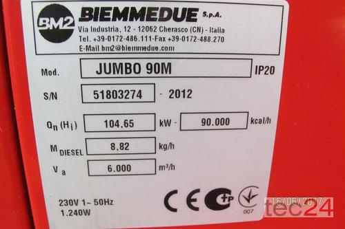 Heizgerät BM2 Getreidetrocknung Ölheizung Jumbo 90 Hallenheizung Zeltheizung Bild 3