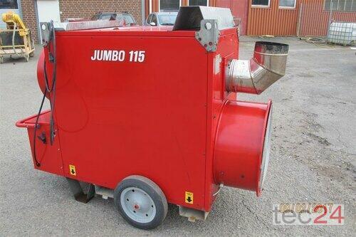 Heizgerät BM2 Getreidetrocknung Ölheizung Jumbo 115 Hallenheizung Bauheizung Bild 1