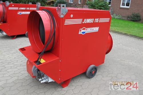 BM2 Getreidetrocknung Ölheizung Jumbo 115 Hallenheizung Bauheizung Год выпуска 2012 Soltau