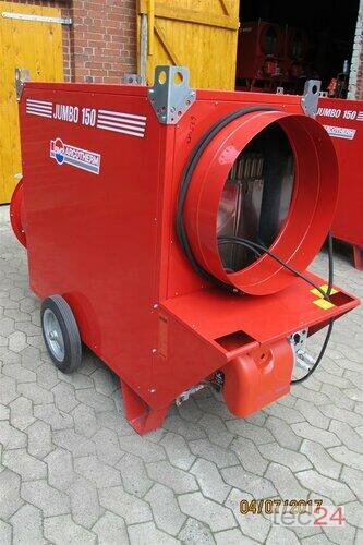 BM2 Getreidetrocknung Ölheizung Jumbo 150 Hallenheizung Bauheizung Bouwjaar 2012 Soltau