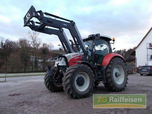 Steyr 4110 Profi Cvt Front Loader Year of Build 2016
