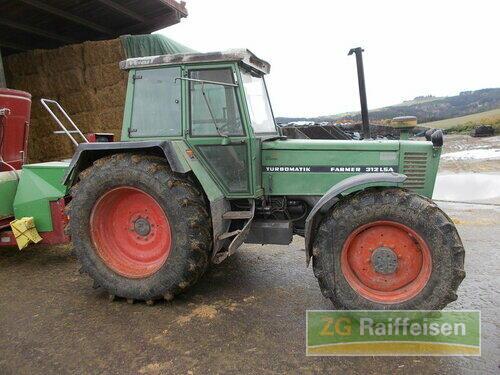Fendt Farmer 312 LSA Année de construction 1988 A 4 roues motrices