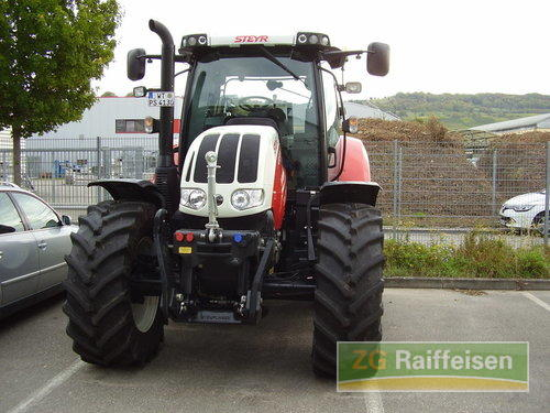Steyr 4130 Profi Cvt Year of Build 2015 4WD