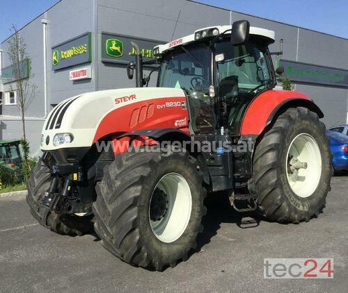 Steyr Cvt 6230 Bouwjaar 2012 4 WD