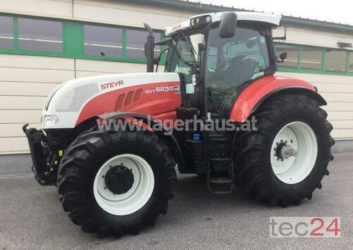 Steyr Cvt 6230 Anul fabricaţiei 2012 Tracţiune integrală 4WD