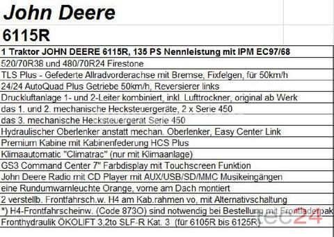 John Deere Allradtraktoren
