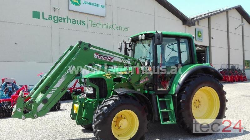John deere premium hydrac frontlader traktor gebraucht