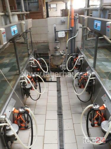 Etscheid 6er Fischgrätenmelkstand Anul fabricaţiei 1997 Kapfenberg