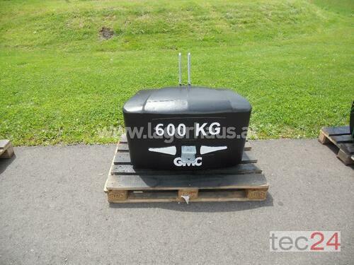GMC BALLASTGEWICHT 600KG