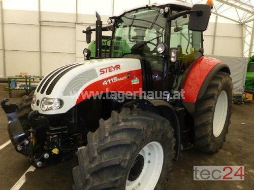 Steyr 4115 Multi Ecotech Komm. Komf. Bouwjaar 2015 Bergland