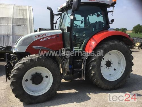 Steyr Profi 4120 Profimodell Year of Build 2013 Purgstall