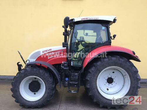 Steyr 4130 Profi Cvt Baujahr 2016 Allrad