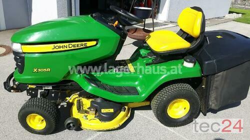 John Deere X 305 R Año de fabricación 2011 Klagenfurt