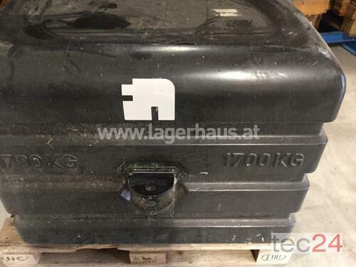 1700kg Front/Heck-Gewicht Schlitters