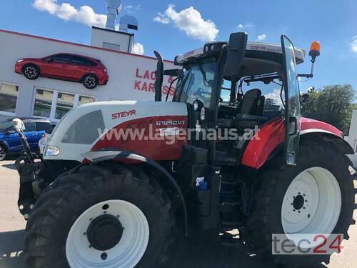 Steyr Cvt 6165 &Quot; Profi&Quot; Vorführer Baujahr 2019 Allrad