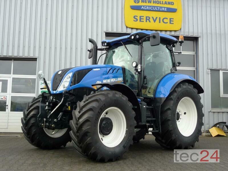 New machine Tractors: New Holland T6.175 AC Tier4B