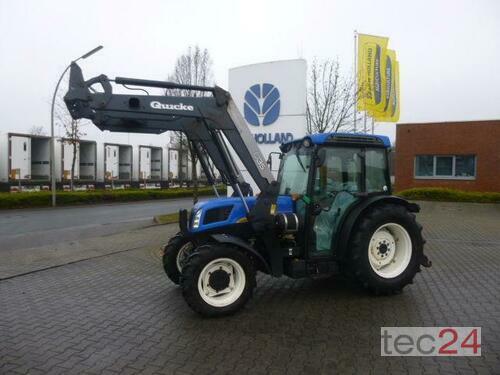 New Holland T 4050 F Frontlaster Årsmodell 2009