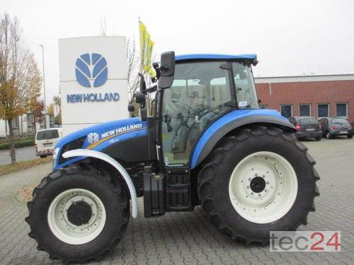 New Holland T5.105 mit Wunschkennzeichen