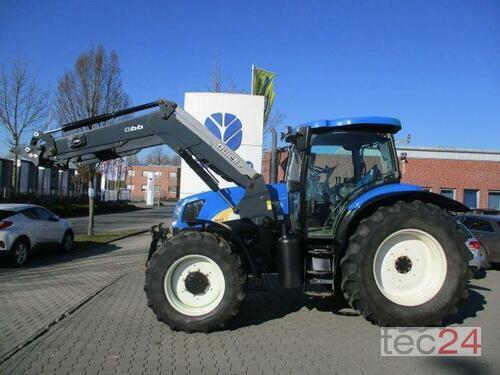 New Holland Tsa 125 Supersteer Voorlader Bouwjaar 2004