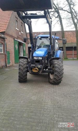 New Holland TS 115 Frontlader Baujahr 2002