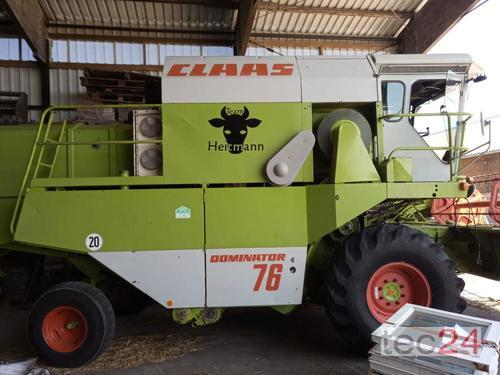 Claas Dominator 76 (Mercedes Benz Motor)
