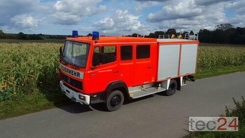 Mercedes-Benz Feuerwehr Gerätewagen 814 F