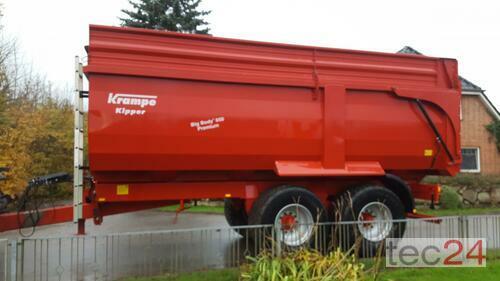 Krampe Big Body 650 Рік виробництва 2012 Honigsee