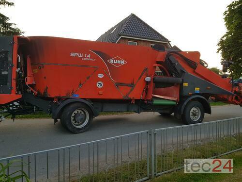 Kuhn Spw 14 Hydrostat Defekt!Viele Neuteile Verbaut! Rok výroby 2013 Honigsee