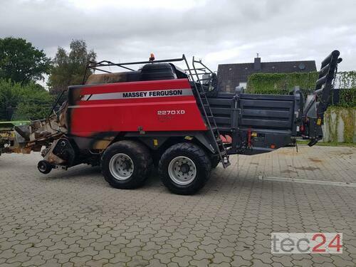 Massey Ferguson 2270 Xd Cutter Mit Brandschaden Rok produkcji 2014 Honigsee