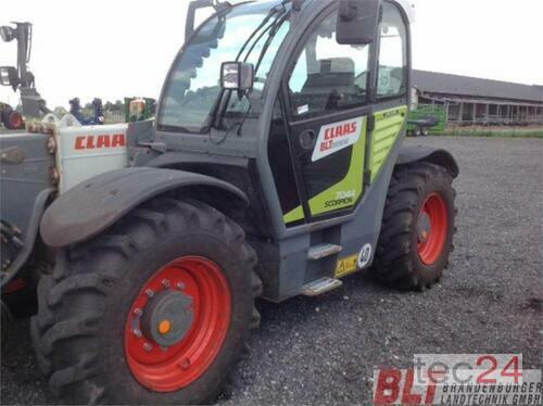 Claas Scorpion 7044 Año de fabricación 2015 Heiligengrabe OT Liebenthal