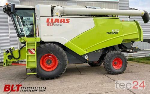Claas Tucano 570 Tier 4