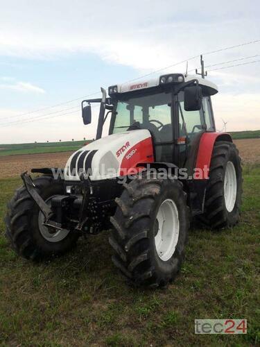 Steyr 9090 M Profi Año de fabricación 2006 Accionamiento 4 ruedas