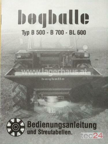 Bogballe Bl 600 Rok výroby 2000 Horitschon