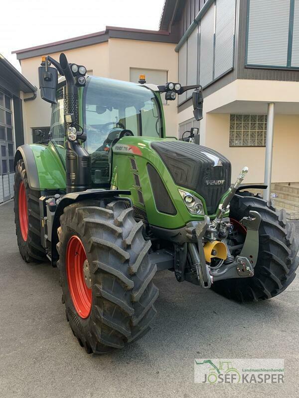 Demonstration machine Tractors: Fendt 716 Vario S4 Profi
