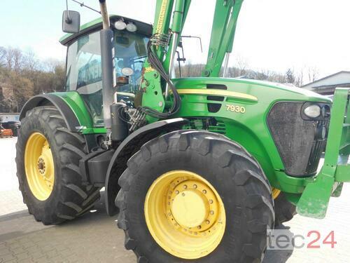 John Deere 7930 AutoQuad +John Deere Frontlader 746