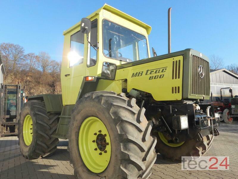 mercedes benz mb trac 800 traktor gebraucht balve 30. Black Bedroom Furniture Sets. Home Design Ideas