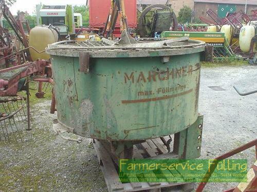 Marchner Betonmischer Zapfwellenantrieb Warburg / Daseburg