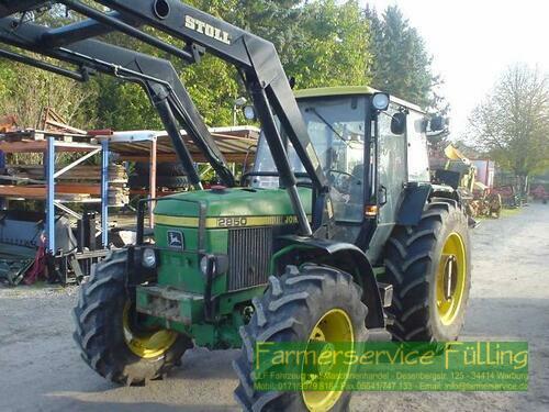 John Deere 2850 Frontlader Baujahr 1990