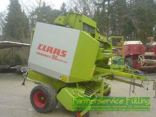 Claas Variant 180 RC anno di costruzione 2001 Warburg / Daseburg