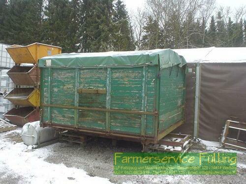 MAN Kipperaufbau Von Man Für Sattelzug Für Grünes Kennzeichen Warburg / Daseburg
